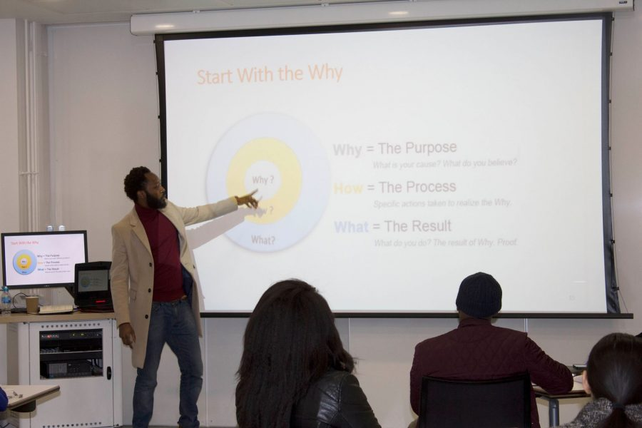 simon tefula entrepreneur startup workshop university of east london